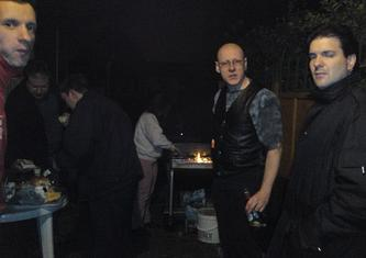 21 April 2009 (Tuesday) - Barbecues in the Dark